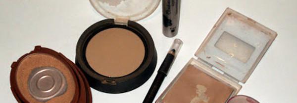 O glamour da maquiagem