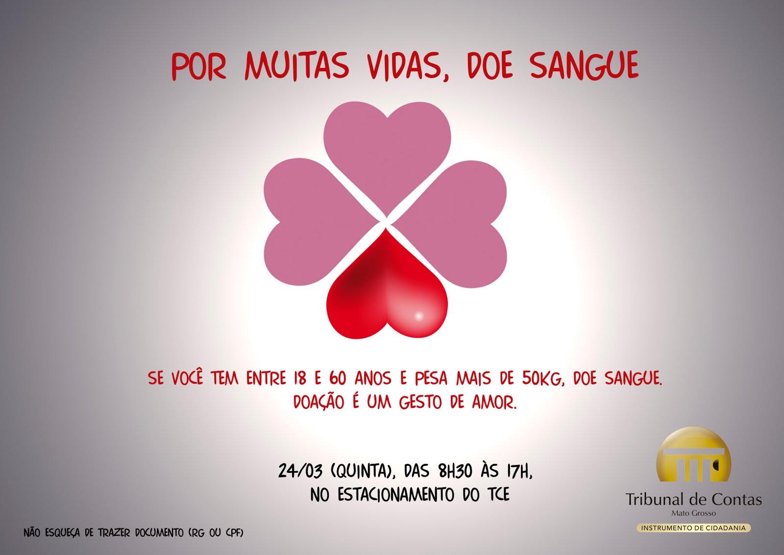 Campanha Doação De Sangue Fabiane Mellocombr