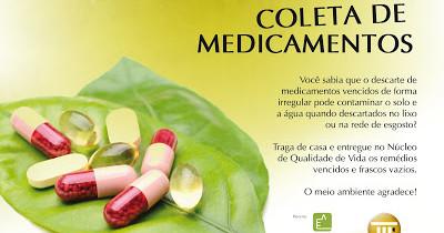 Coleta de Medicamentos