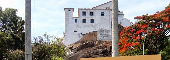 Diário de Bordo: Convento da Penha  e Praias de Manguinhos e Costa