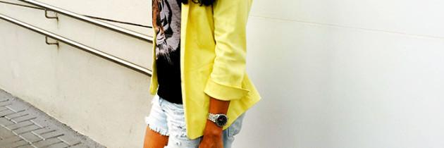 Look da semana: Um certo blazer amarelo