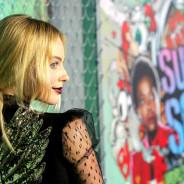 Os detalhes de Margot Robbie na première de Esquadrão Suicida